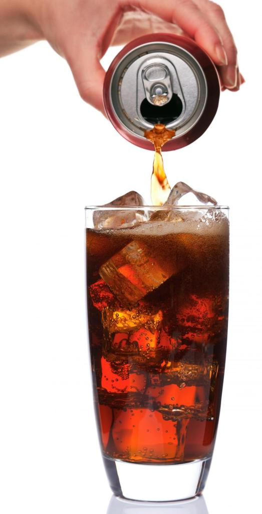 Glass of soda image